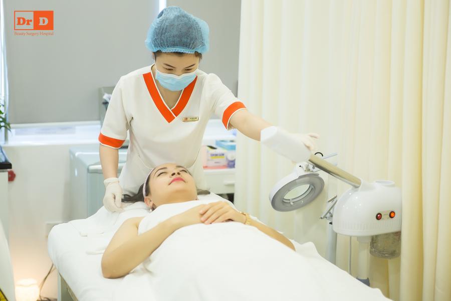 Thẩm mỹ DrD xây dựng một quy trình chuẩn để chăm sóc da cho khách hàng