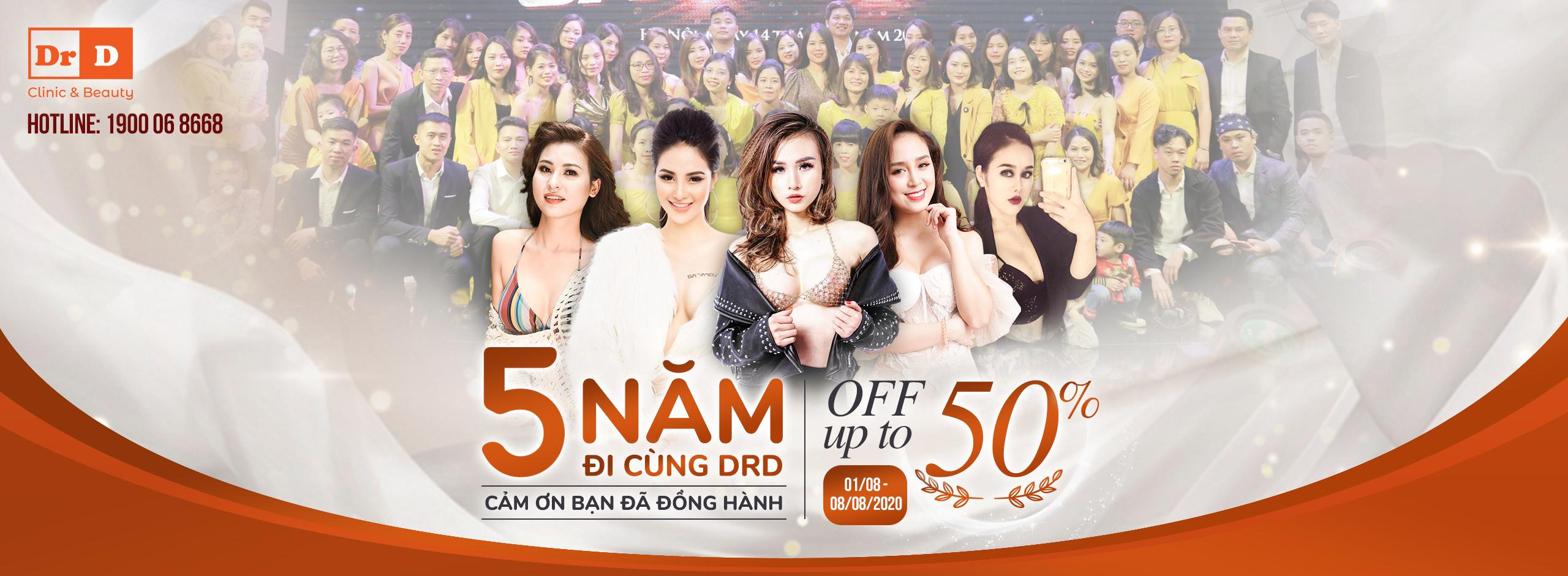 Mừng Sinh Nhật DrD 5 Năm - 5 Year With DrD